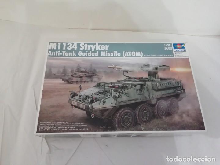 TRUMPETER M1134 STRYKER ANTI-TANK GUIDED MISSILE ATGM 1/35 NUEVO DESCATALOGADO (Juguetes - Modelismo y Radiocontrol - Maquetas - Militar)