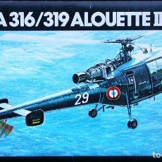 Maquetas: MAQUETA HELLER 1/72 AEROSPATIALE SA.316/319 ALOUETTE III #225 . Lote 138987546