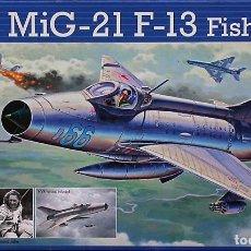 Maquetas: MAQUETA REVELL 1/72 MIG-21F-13 'FISHBED-C' - 2015 #03967. Lote 139477262