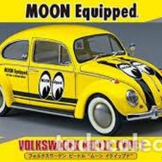 Maquetas: HASEGAWA - MOON EQUIPED VOLKSWAGEN BEETLE TYPE 1 LIMITED EDITION 1/24 20357. Lote 139590806