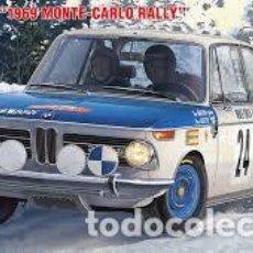 Maquetas: HASEGAWA - BMW 2002 TI 1969 RALLY MONTE CARLO 1/24 EDICION LIMITADA 20332. Lote 139590854