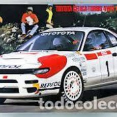 Maquetas: HASEGAWA - TOYOTA CELICA TURBO 4WD 1992 TOUR DE CORSE 1/24 20291. Lote 139591066