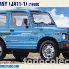 Maquetas: HASEGAWA - SUZUKI JIMMY JA 11-1 1990 LIMITED EDITION 1/24 20301. Lote 139591222