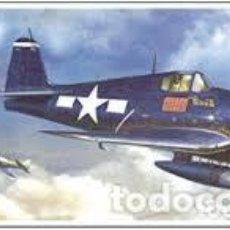 Maquetas: HASEGAWA - F6F-3/5 HELLCAT 1/72 00241. Lote 139591458