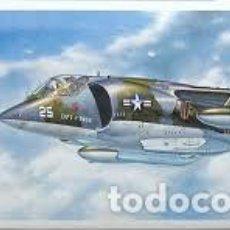 Maquetas: HASEGAWA - AV-8A HARRIER 1/72 00240. Lote 139591514