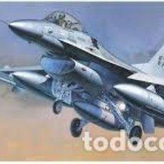 Maquetas: HASEGAWA - F-16A PLUS FIGHTING FALCON 1/72 0231. Lote 139591782
