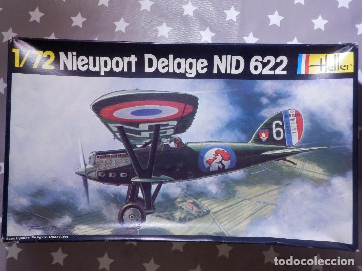 MAQUETA DE AVIÓN A ESCALA - 1/72 - NIEUPORT DELAGE NID 622 - HELLER - SIN DESPRECINTAR - NUEVO (Juguetes - Modelismo y Radio Control - Maquetas - Aviones y Helicópteros)