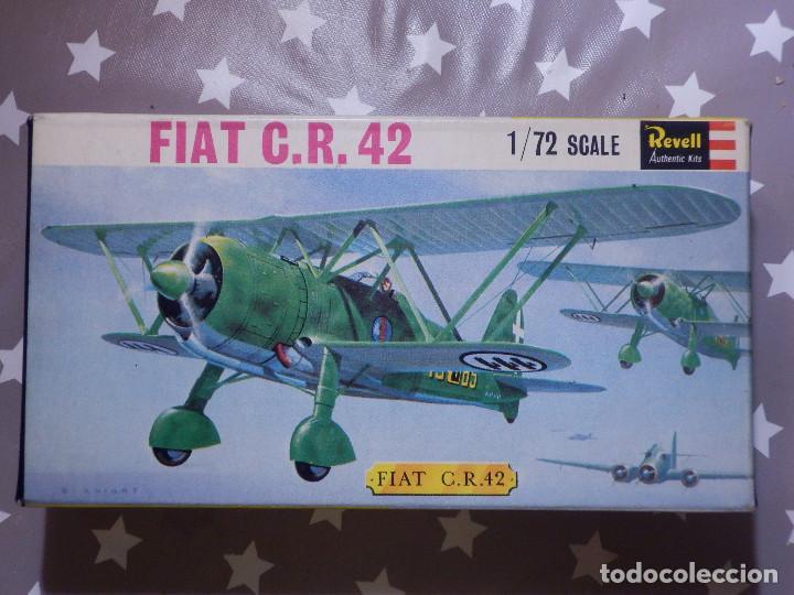 MAQUETA DE AVIÓN A ESCALA - 1/72 - FIAT C.R. 42 - REVEL - (Juguetes - Modelismo y Radio Control - Maquetas - Aviones y Helicópteros)