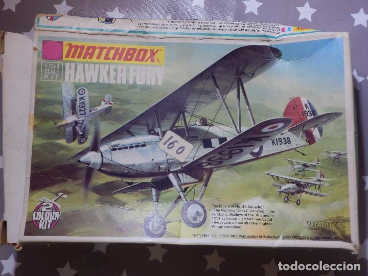 MAQUETA DE AVIÓN A ESCALA - 1/72 - HAWKER FURY - MATCHBOX - (Juguetes - Modelismo y Radio Control - Maquetas - Aviones y Helicópteros)
