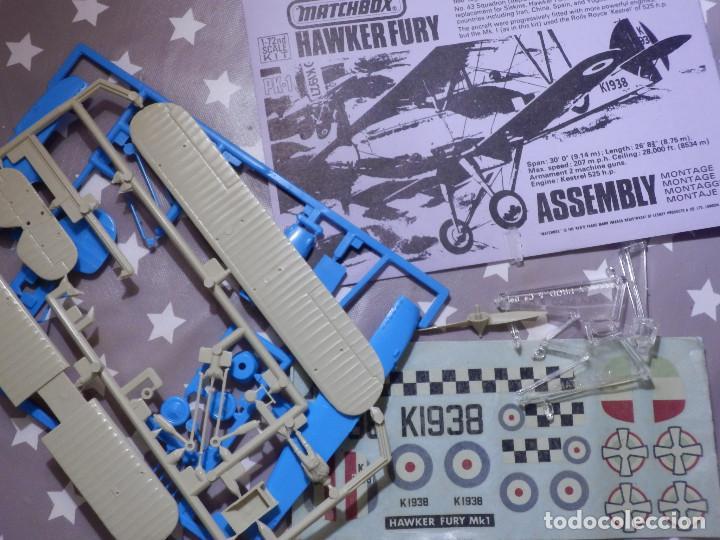 Maquetas: Maqueta de avión a escala - 1/72 - Hawker Fury - Matchbox - - Foto 2 - 139593774