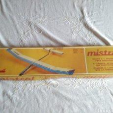 Maquetas: AVIÓN VELERO MISTRAL A-1 PARA COMPETICIÓN. Lote 139599790