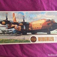 Maquetas: AC-130H HÉRCULES 1:72 AIRFIX 881 MAQUETA AVIÓN EJÉRCITO ESPAÑOL. Lote 140747825