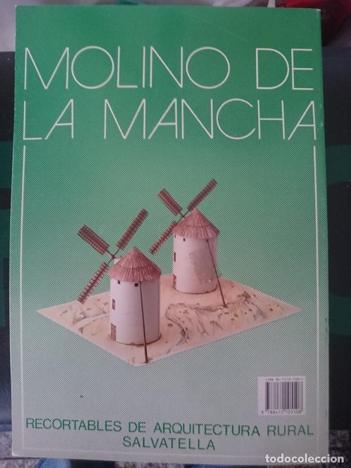 MOLINO DE LA MANCHA -RECORTABLES DE ARQUITECTURA RURAL SALVATELLA -REF-M2E4 (Juguetes - Modelismo y Radiocontrol - Maquetas - Construcciones)