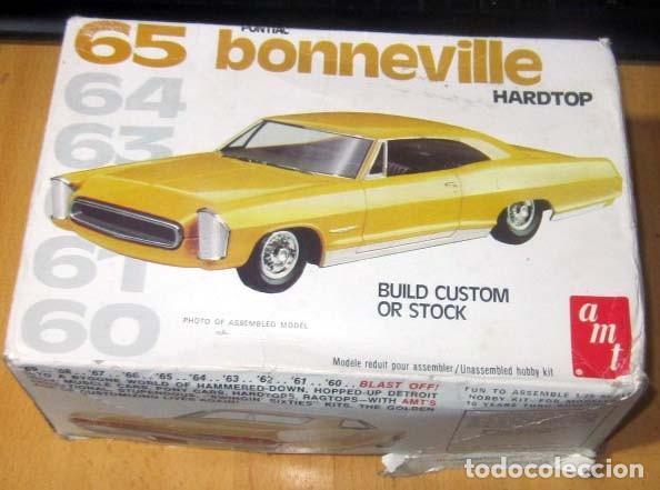 PONTIAC BONNEVILLE HARDTOP MODELO 1965 MAQUETA AÑO 1977 AMT REF 2209 ESCALA 1/ 25 MICHIGAN USA (Juguetes - Modelismo y Radiocontrol - Maquetas - Coches y Motos)