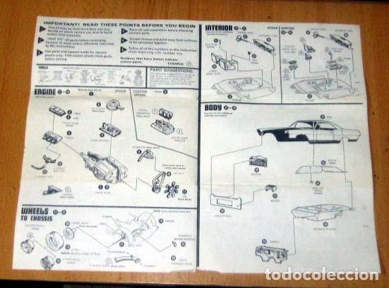 Maquetas: PONTIAC BONNEVILLE HARDTOP MODELO 1965 MAQUETA AÑO 1977 AMT REF 2209 Escala 1/ 25 MICHIGAN USA - Foto 8 - 139666354