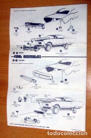 Maquetas: PONTIAC BONNEVILLE HARDTOP MODELO 1965 MAQUETA AÑO 1977 AMT REF 2209 Escala 1/ 25 MICHIGAN USA - Foto 9 - 139666354