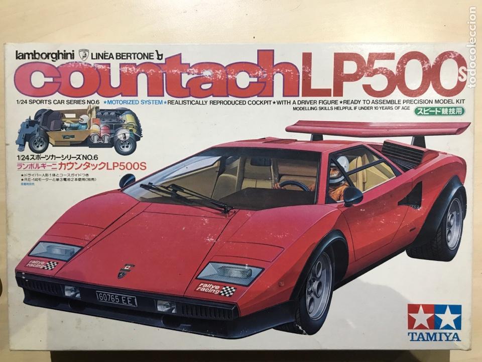 Lamborghini Countach Lp500s 1 24 Tamiya Buy Scale Models Of Cars