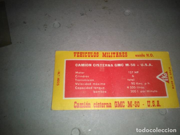 Maquetas: CAMIÓN CISTERNA G.M.C. M. 50 U.S.A. - EKO ref.4025 - Foto 3 - 139874930