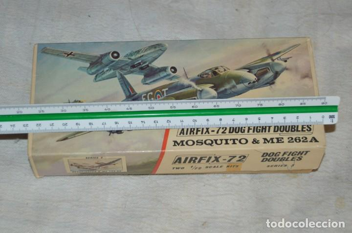 Maquetas: VINTAGE - AIRFIX - ANTIGUA MAQUETA AIRFIX 72 - ME 262A Y MOSQUITO - DOG FIGHT DOUBLES - ENVÍO 24H - Foto 14 - 140035710