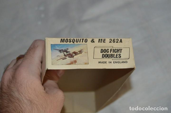 Maquetas: VINTAGE - AIRFIX - ANTIGUA MAQUETA AIRFIX 72 - ME 262A Y MOSQUITO - DOG FIGHT DOUBLES - ENVÍO 24H - Foto 16 - 140035710