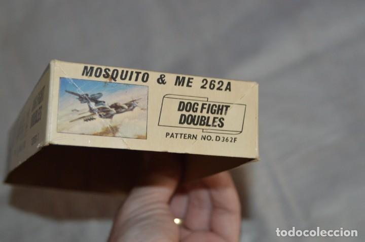 Maquetas: VINTAGE - AIRFIX - ANTIGUA MAQUETA AIRFIX 72 - ME 262A Y MOSQUITO - DOG FIGHT DOUBLES - ENVÍO 24H - Foto 18 - 140035710