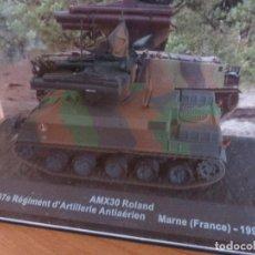 Maquetas: ALTAYA: COLECCION BLINDADOS DE COMBATE: FASCICULO Nº 8 - AMX-30 ROLAND. Lote 289464923