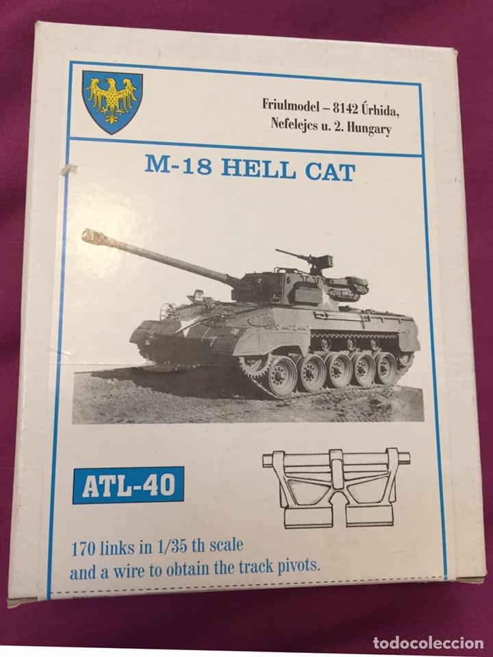 Cadenas metálicas para M-18 1:35 FRIULMODEL ATL-40 maqueta carro