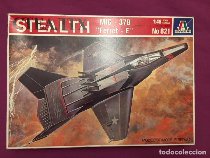 MIG 37 B FERRET STEALTH 1:48 MAQUETA AVIÓN (Juguetes - Modelismo y Radio Control - Maquetas - Aviones y Helicópteros)