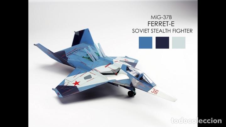 Maquetas: MIG 37 B Ferret STEALTH 1:48 maqueta avión - Foto 12 - 140782750