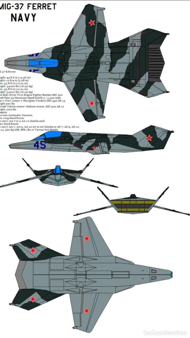 Maquetas: MIG 37 B Ferret STEALTH 1:48 maqueta avión - Foto 21 - 140782750
