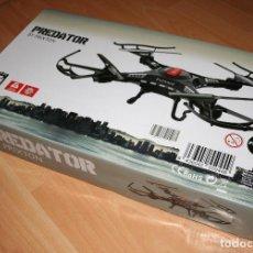 Maquetas: DRON.PREDATOR.PRIXTON.MANDO A DISTANCIA.LUCES LED.RADIOCONTROL.JUGUETE.FUNCIONA.HAZ TU OFERTA!!. Lote 141128862