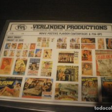 Maquetas: VERLINDEN, 1/35 MOVIE POSTERS, PLAYBOY CENTERFOLDS & PIN-UPS. Lote 141514674