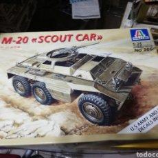 Maquetas: ITALERI 1/35 M-20 SCOUT CAR. Lote 141586646