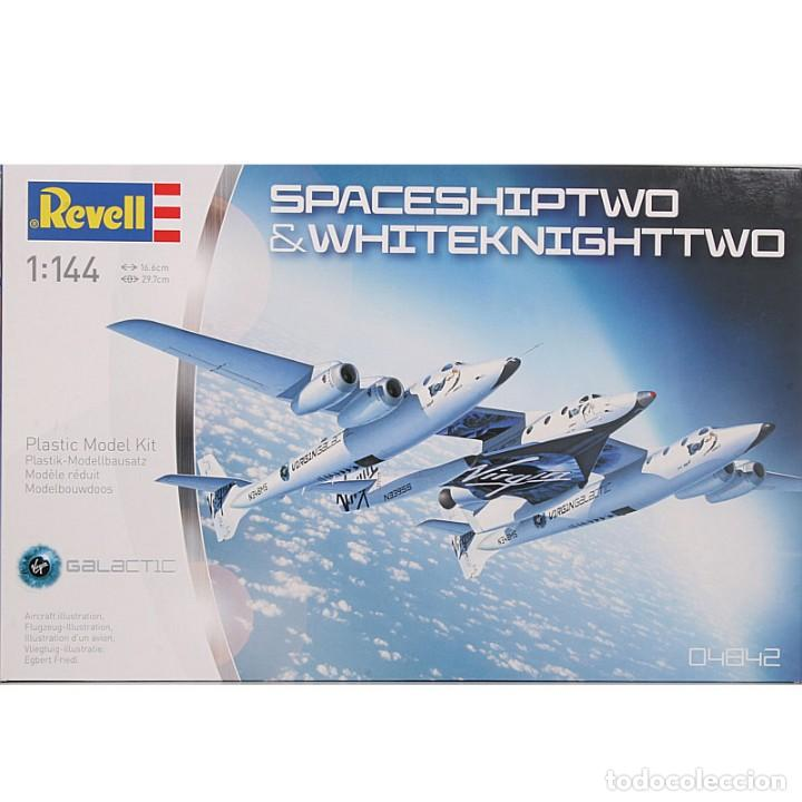 REVELL - MAQUETA SPACESHIPTWO & WHITEKNIGHTTWO, ESCALA 1:144 (Juguetes - Modelismo y Radio Control - Maquetas - Aviones y Helicópteros)