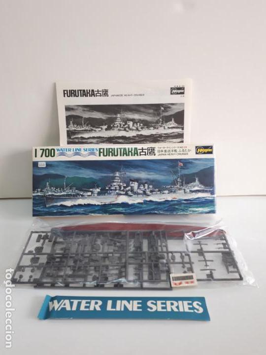Maquetas: MAQUETA BARCO FURUTAKA JAPAN HEAVY CRUISER ESCALA 1 / 700 HASEGAWA WATER LINE SERIES WL C059 NUEVA - Foto 2 - 141805574