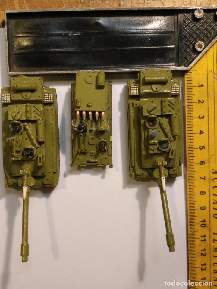 Maquetas: 3 maquetas hechas a mano militar 2 tanques y 1 bombardero para realizar dioramas guerra militaria - Foto 3 - 141833822