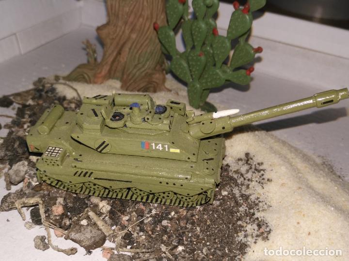 Maquetas: 3 maquetas hechas a mano militar 2 tanques y 1 bombardero para realizar dioramas guerra militaria - Foto 4 - 141833822