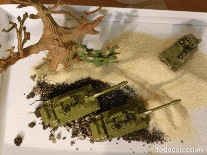 Maquetas: 3 maquetas hechas a mano militar 2 tanques y 1 bombardero para realizar dioramas guerra militaria - Foto 6 - 141833822