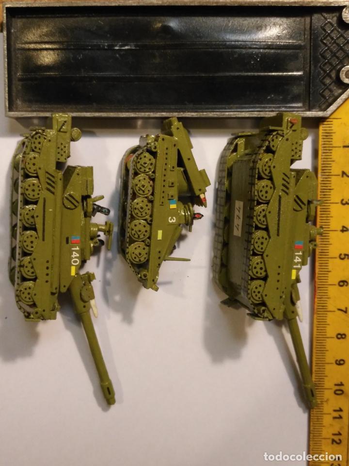 Maquetas: 3 maquetas hechas a mano militar 2 tanques y 1 bombardero para realizar dioramas guerra militaria - Foto 7 - 141833822