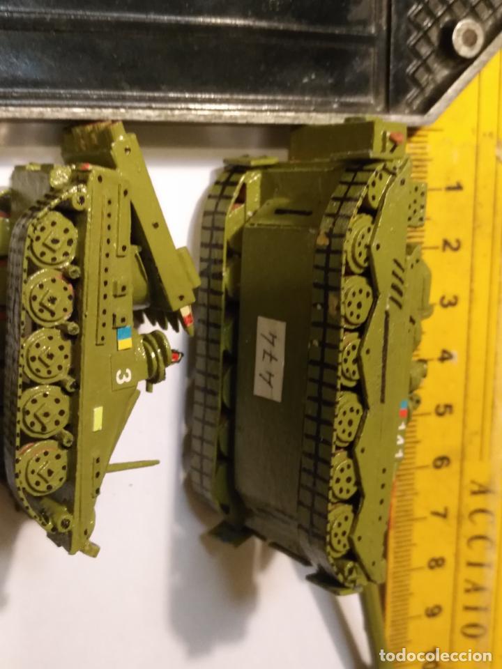 Maquetas: 3 maquetas hechas a mano militar 2 tanques y 1 bombardero para realizar dioramas guerra militaria - Foto 8 - 141833822