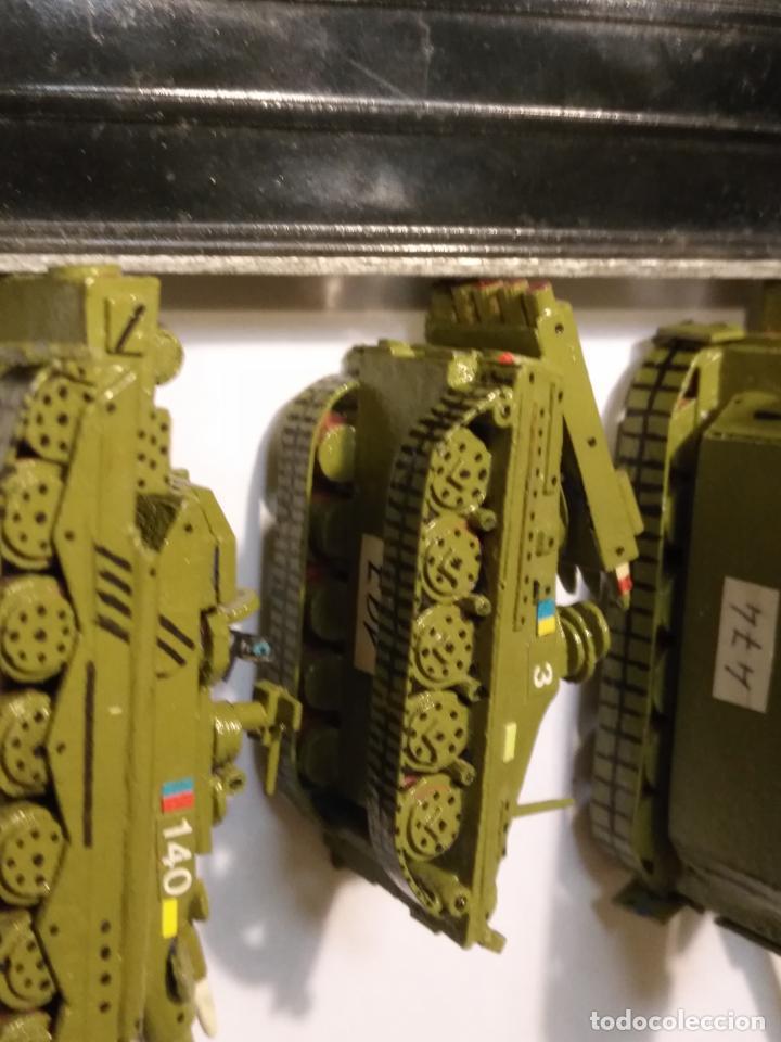 Maquetas: 3 maquetas hechas a mano militar 2 tanques y 1 bombardero para realizar dioramas guerra militaria - Foto 9 - 141833822