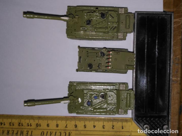 Maquetas: 3 maquetas hechas a mano militar 2 tanques y 1 bombardero para realizar dioramas guerra militaria - Foto 11 - 141833822