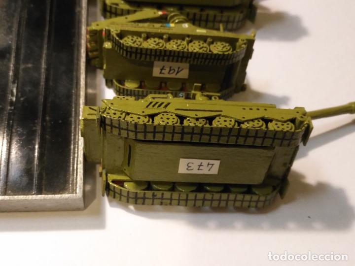 Maquetas: 3 maquetas hechas a mano militar 2 tanques y 1 bombardero para realizar dioramas guerra militaria - Foto 12 - 141833822