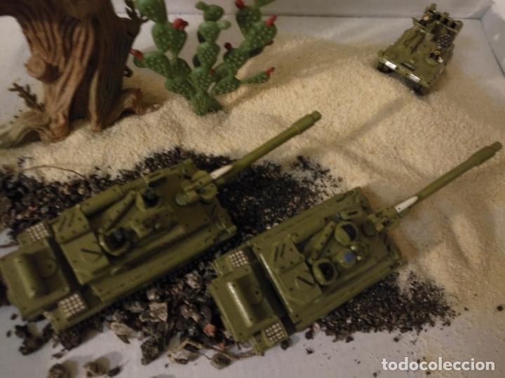 Maquetas: 3 maquetas hechas a mano militar 2 tanques y 1 bombardero para realizar dioramas guerra militaria - Foto 13 - 141833822