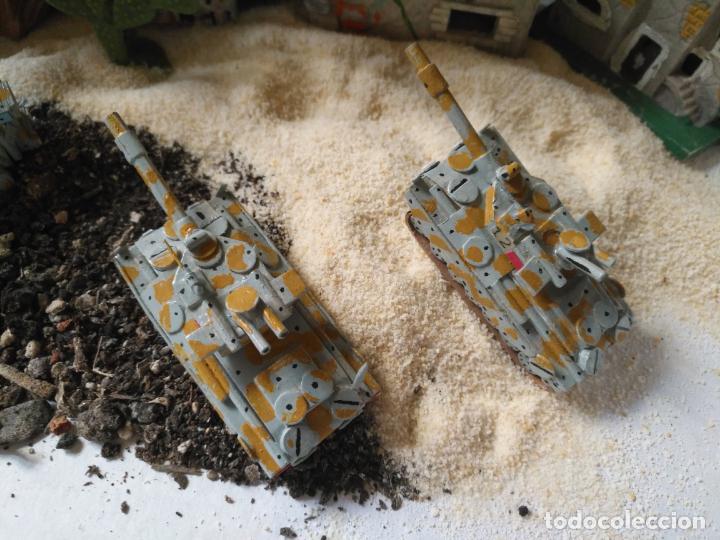 Maquetas: 3 maquetas hechas a mano militar tanques y camion para realizar dioramas guerra militaria leer - Foto 2 - 141884694