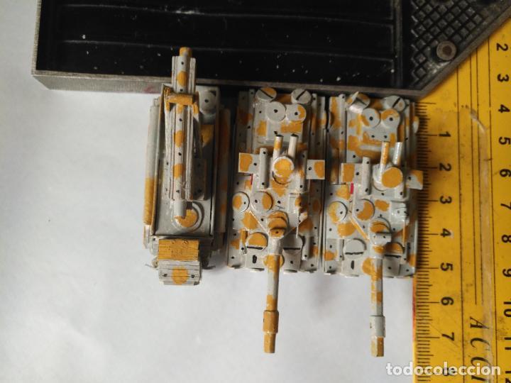 Maquetas: 3 maquetas hechas a mano militar tanques y camion para realizar dioramas guerra militaria leer - Foto 3 - 141884694