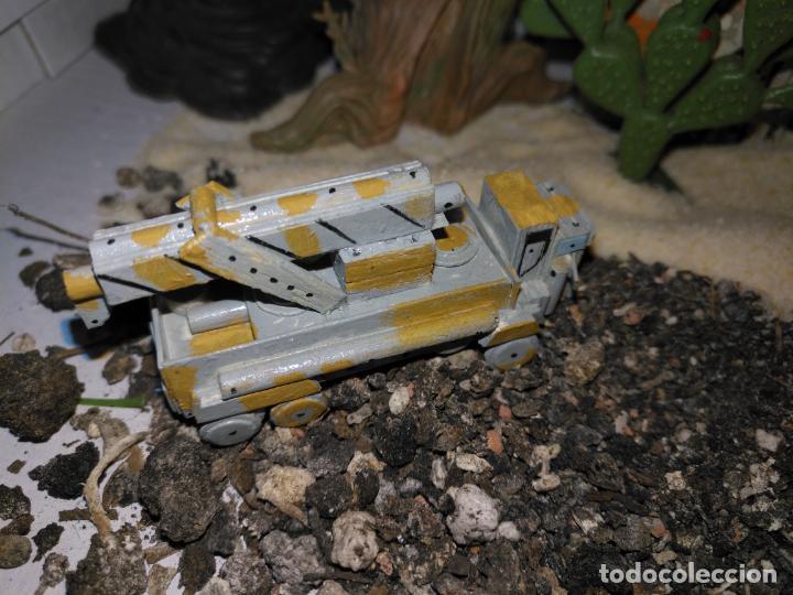 Maquetas: 3 maquetas hechas a mano militar tanques y camion para realizar dioramas guerra militaria leer - Foto 5 - 141884694