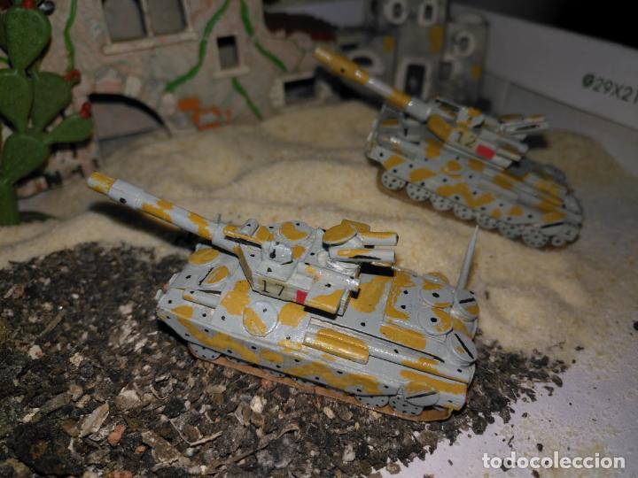 Maquetas: 3 maquetas hechas a mano militar tanques y camion para realizar dioramas guerra militaria leer - Foto 7 - 141884694