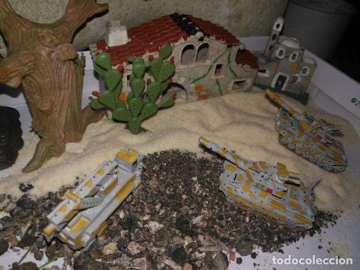 Maquetas: 3 maquetas hechas a mano militar tanques y camion para realizar dioramas guerra militaria leer - Foto 8 - 141884694