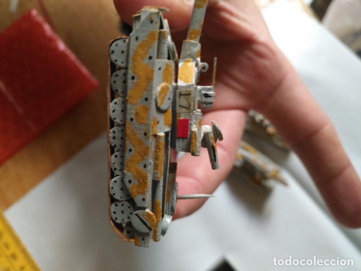 Maquetas: 3 maquetas hechas a mano militar tanques y camion para realizar dioramas guerra militaria leer - Foto 16 - 141884694